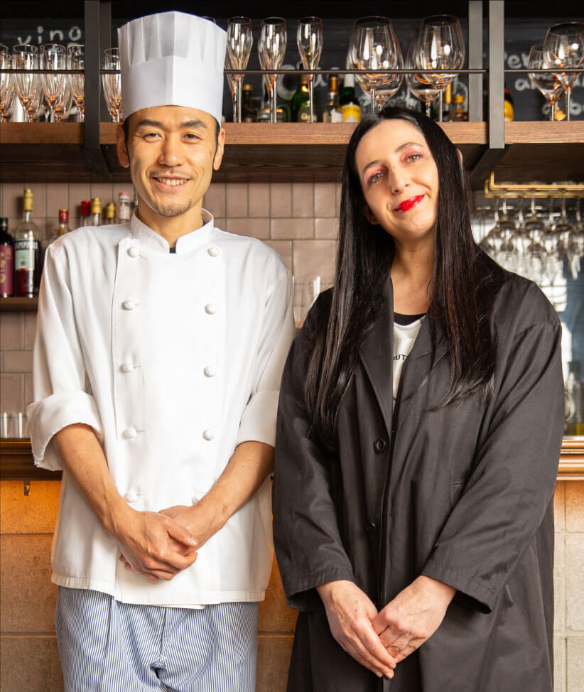 Brasserie Lou Owner chef 西 晃司