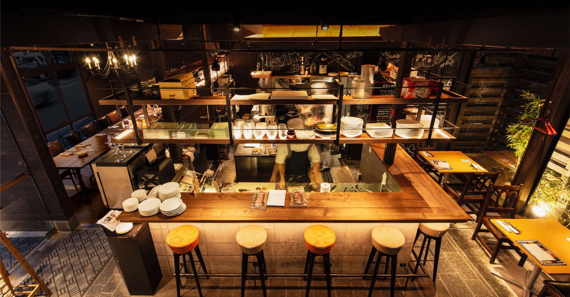 Brasserie Lou店内