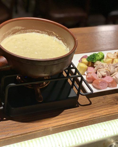 熱々とろ~りルー特製チーズフォンデュ!